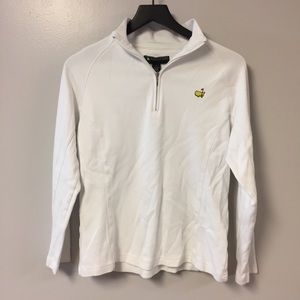 Master's Pullover Long Sleeve Zip Up